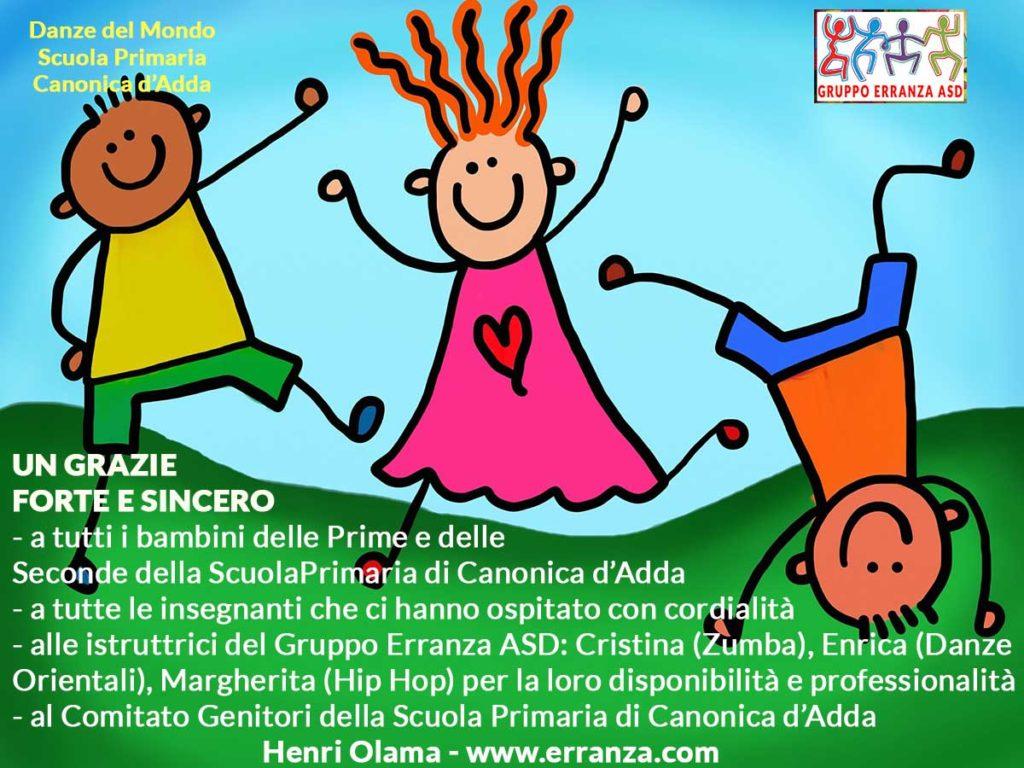 Festa alla Scuola Primaria di Canonica d'Adda