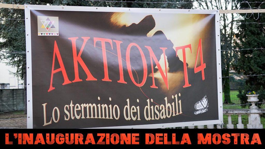 Inaugurazione della mostra Aktion T4 a Vaprio d'Adda