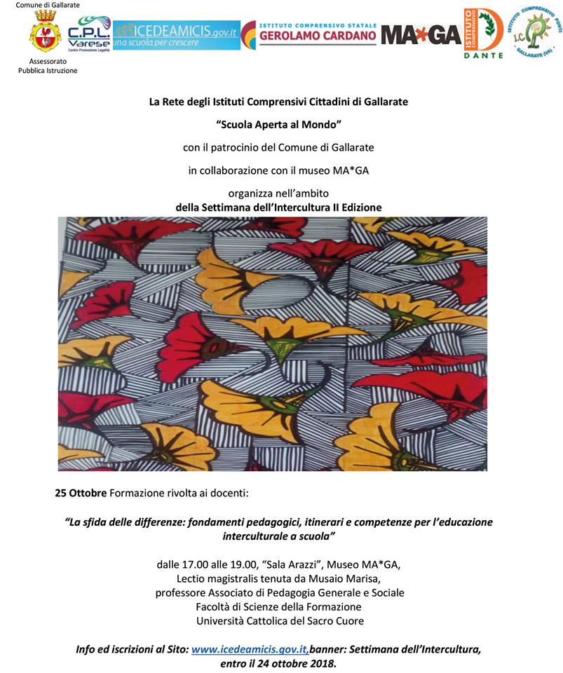 La sfida delle differenze – Incontro Interculturale a Gallarate